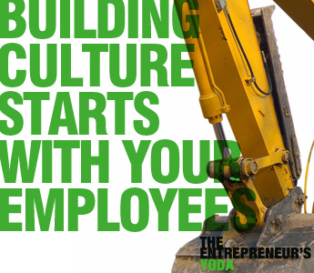 Entrepreneur advice on how to build a happy employee culture and   great customer service