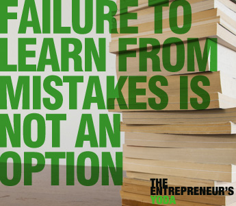How to learn from your business mistakes