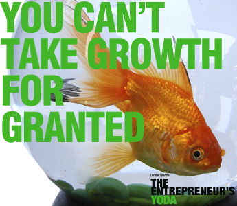 Growth is overrated...especially when you can't manage it.