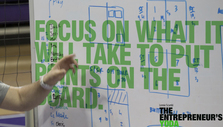 Focus on what it takes to put points on the board