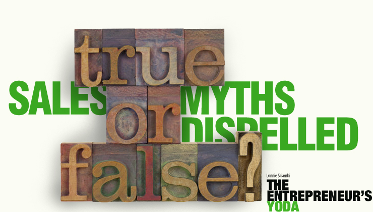 Sales myths busted