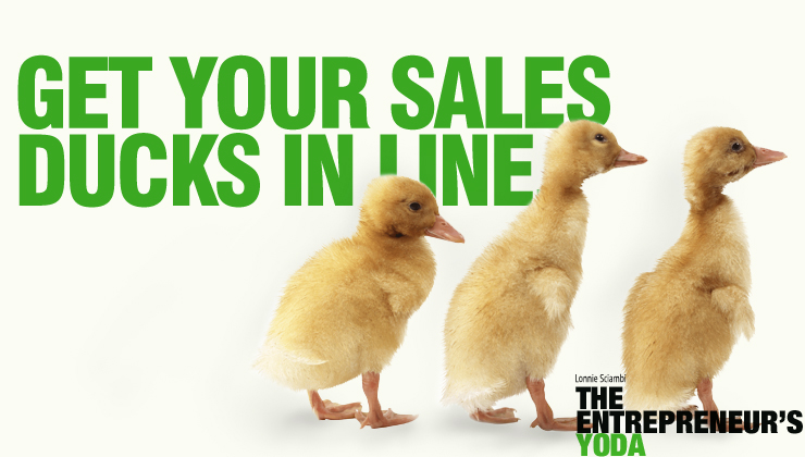 Small business sales success